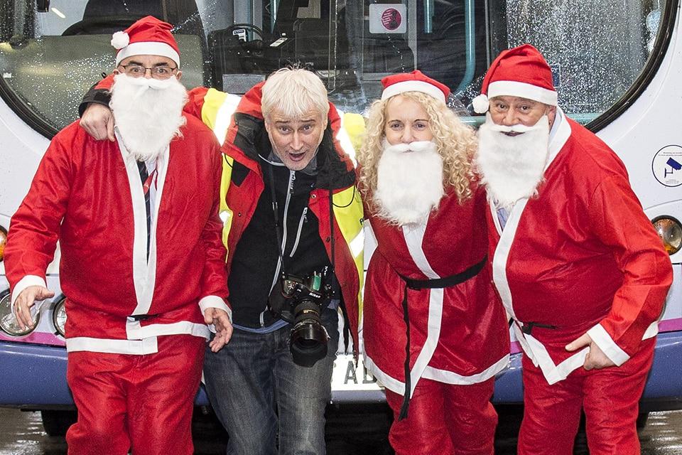 Santa PR Photographer Glasgow