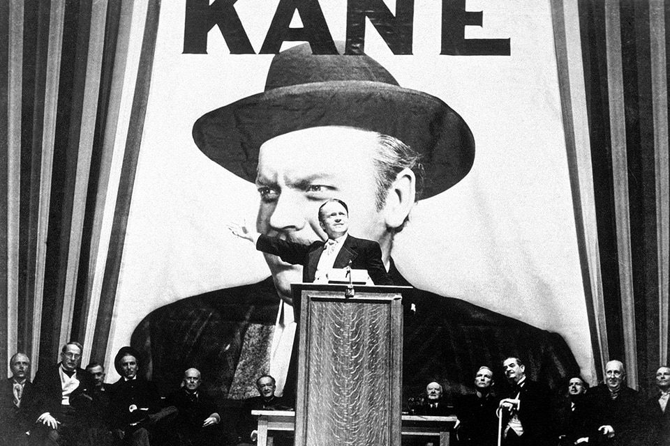 Glasgow Photographer - Citizen Kane, the classic photography student movie.