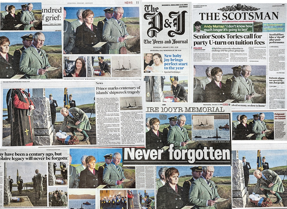 Press Photographer Scotland