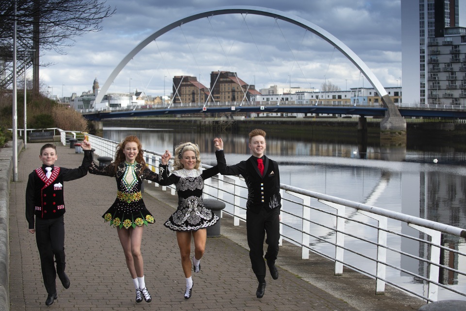 PR Photographer Glasgow, Irish Dancers.