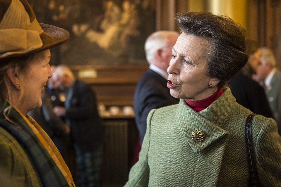 Press Photographer Edinburgh Princess Royal