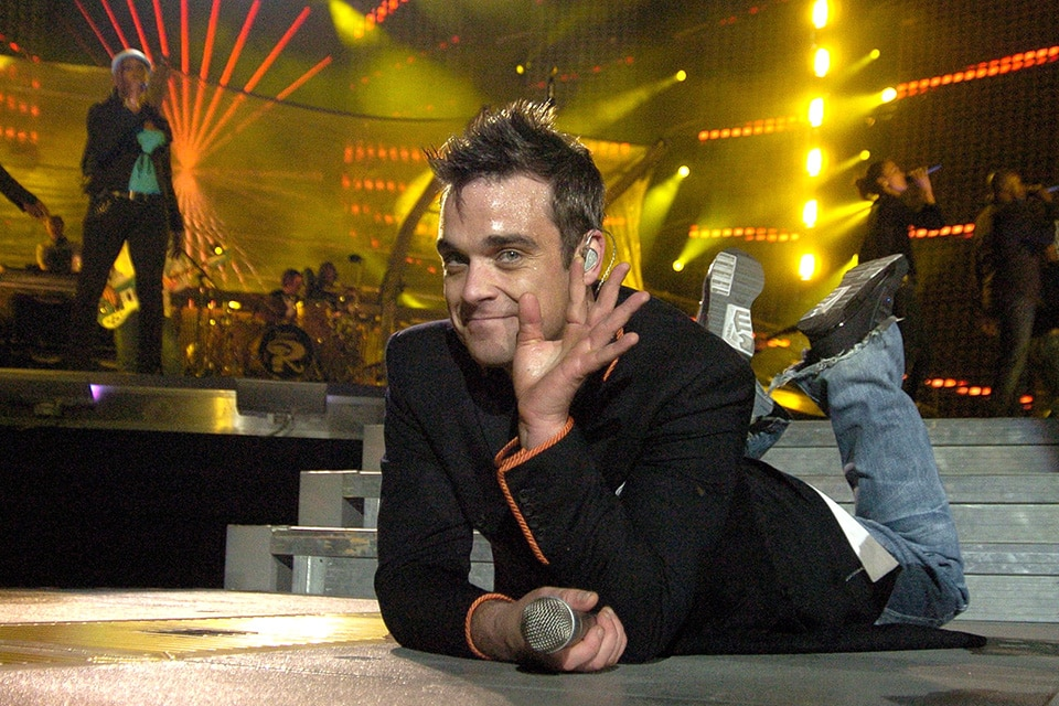 Robbie Williams Photographer Glasgow