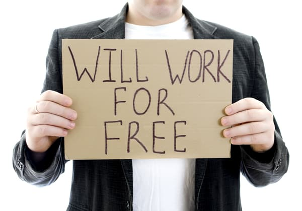 Work for free - Work for free? For exposure? Harlan Ellison sums it up..